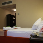 Łóżko w hotelu Dwór Maria Antonina