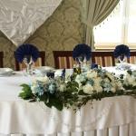 Stół gości weselnych