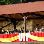 Loża dla VIP-ów w altance
