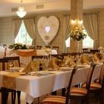 Udekorowana sala weselna Dwór Maria Antonina